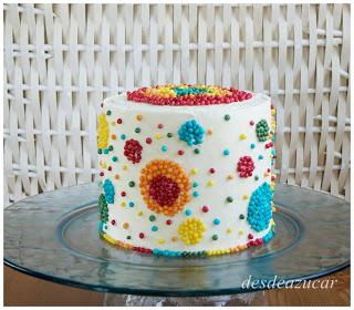 Reto Sprinkle, tarta de Desdeazucar