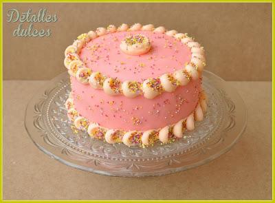 Reto Sprinkle, tarta de Detalles dulces
