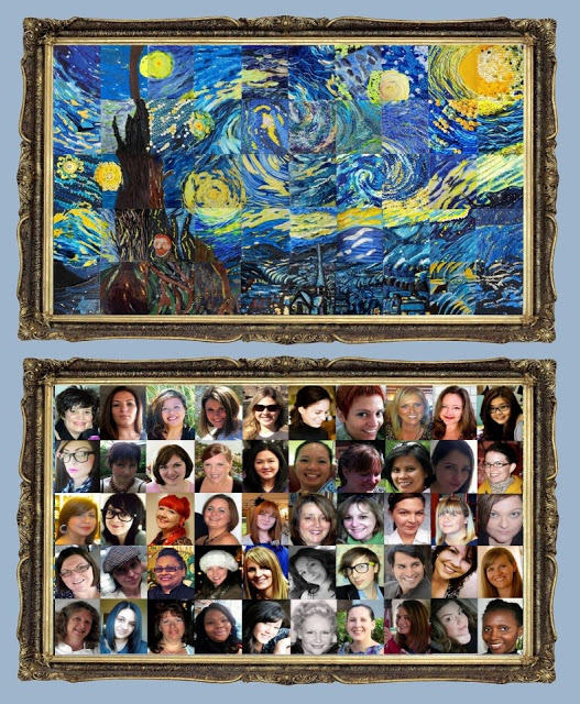 Nuestro Starry Night y los 50 decoradores de tartas