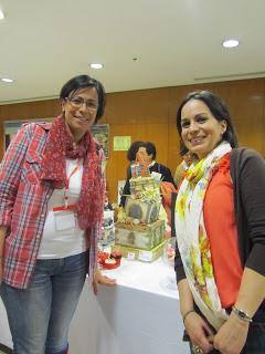 Con Berna de Ilusiona Cakes