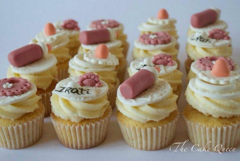 Mini cupcakes de limón