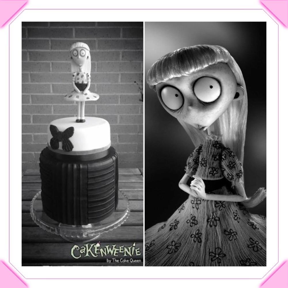 Cakenweenie tartas, la chica rara