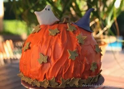 Tarta de Dulce Tartulia para el reto de Halloween