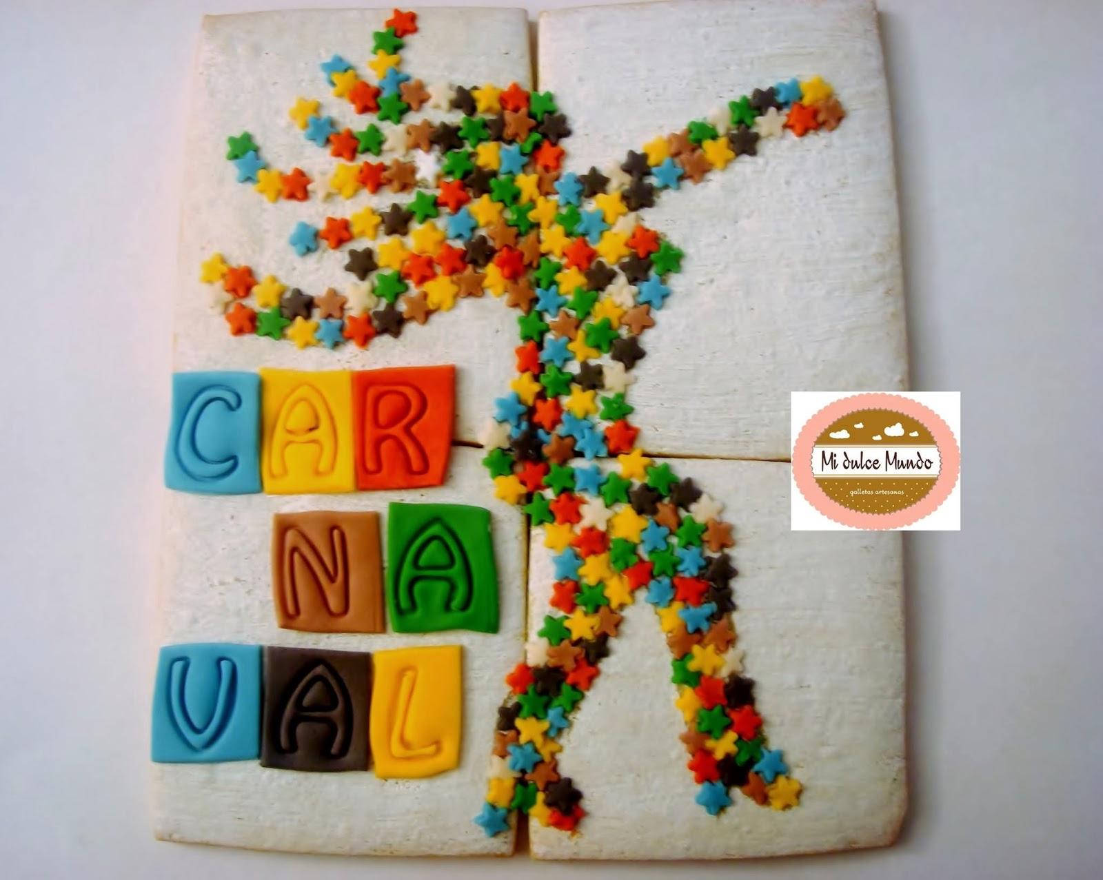 Galletas de Feli de Mi dulce mundo para el reto de carnaval