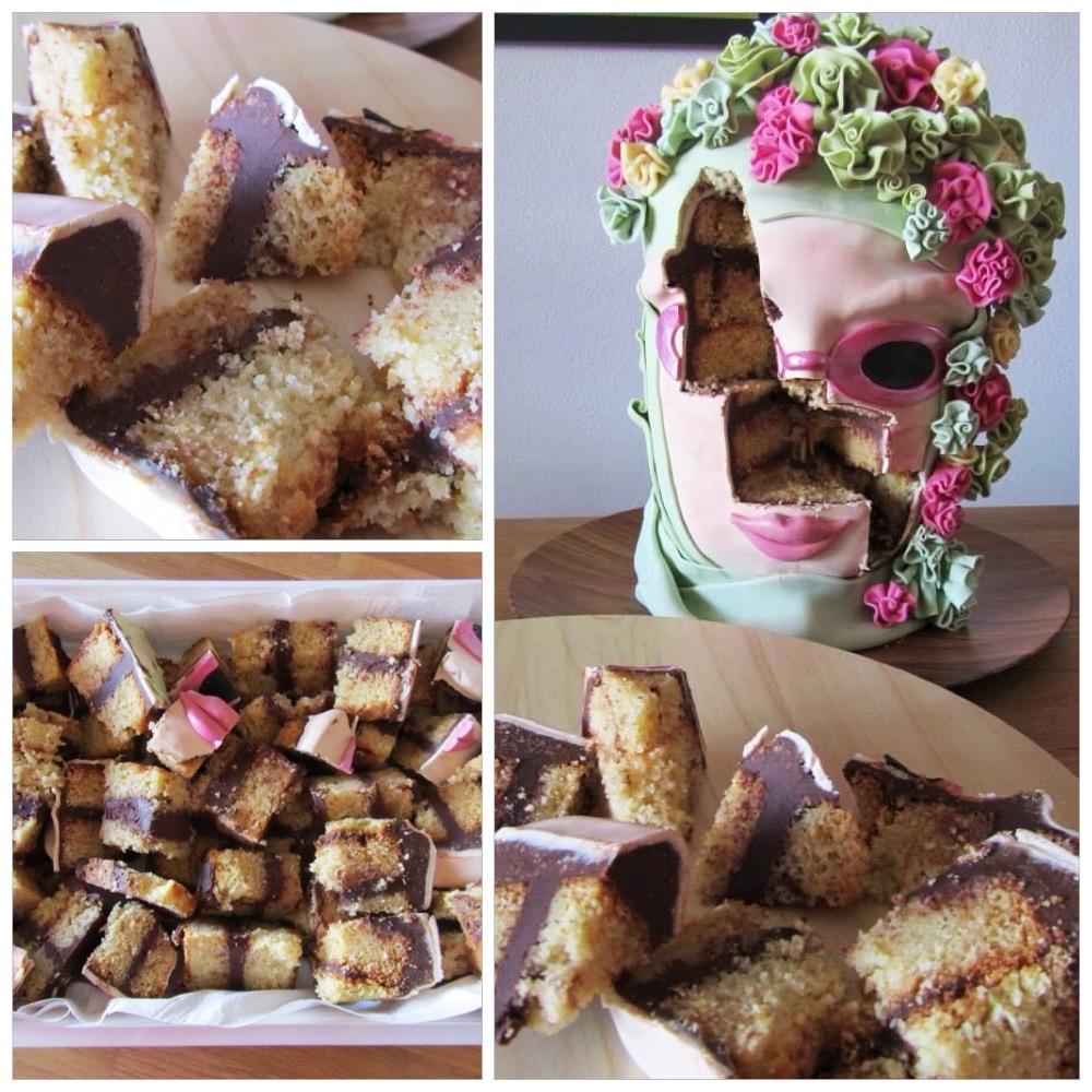 Collage de la tarta Carnaval