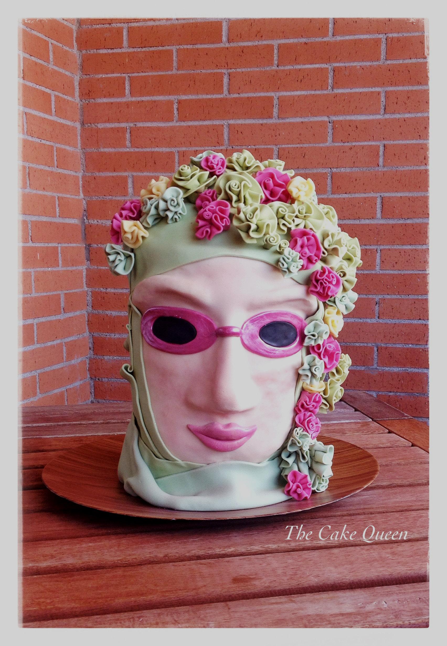 Reto Carnaval, mi tarta 3D para este reto