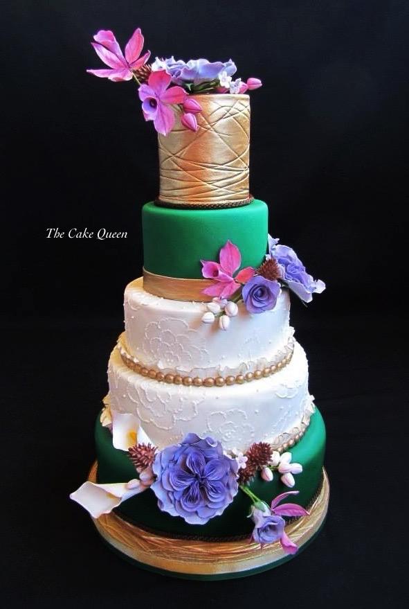 Mi tarta para Expotarta 2014, una tarta que me tomé casi dos semanas de trabajo.