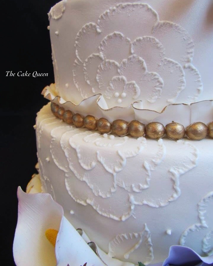 Mi tarta para Expotarta 2014, una tarta con muchos detalles