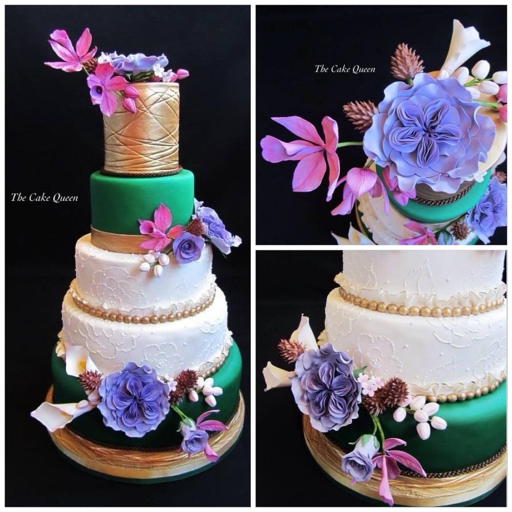 Collage de mi tarta para Expotarta 2014