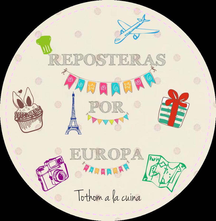 Logo de Reposteras por Europa