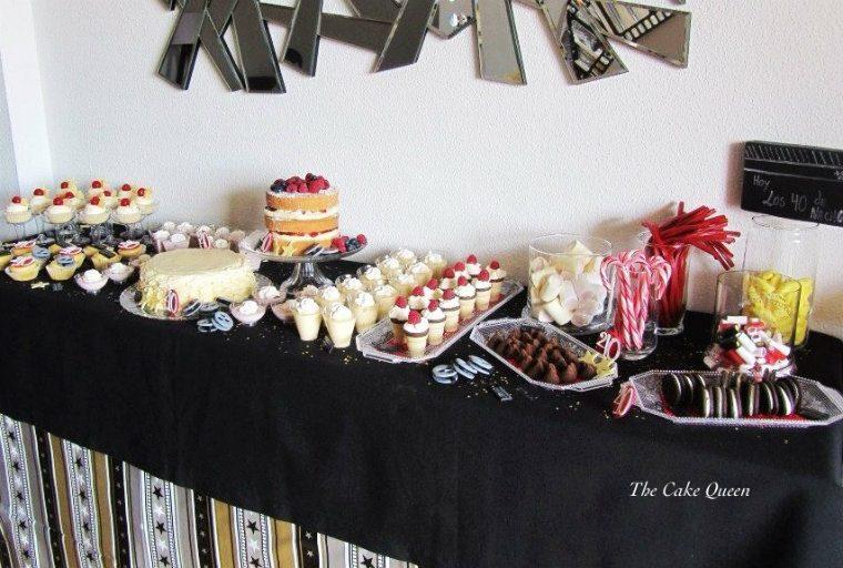 mesa dulce para NACHO