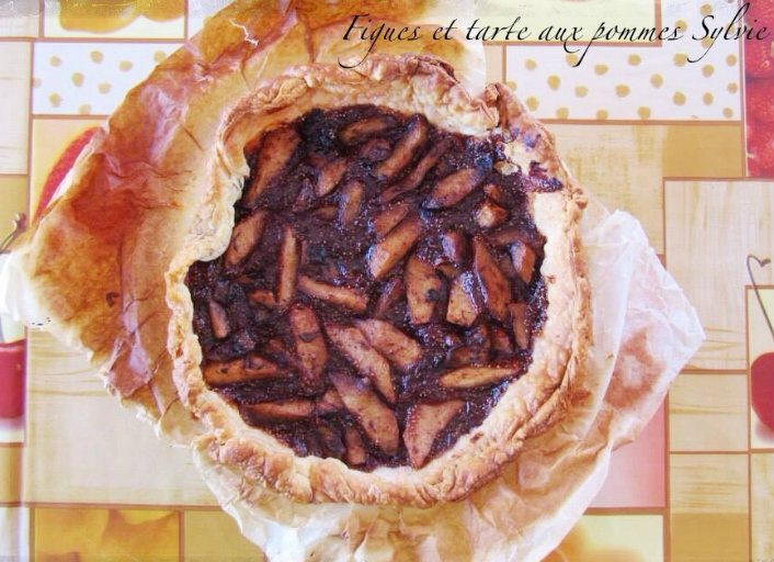 Tartaleta de higos y manzana