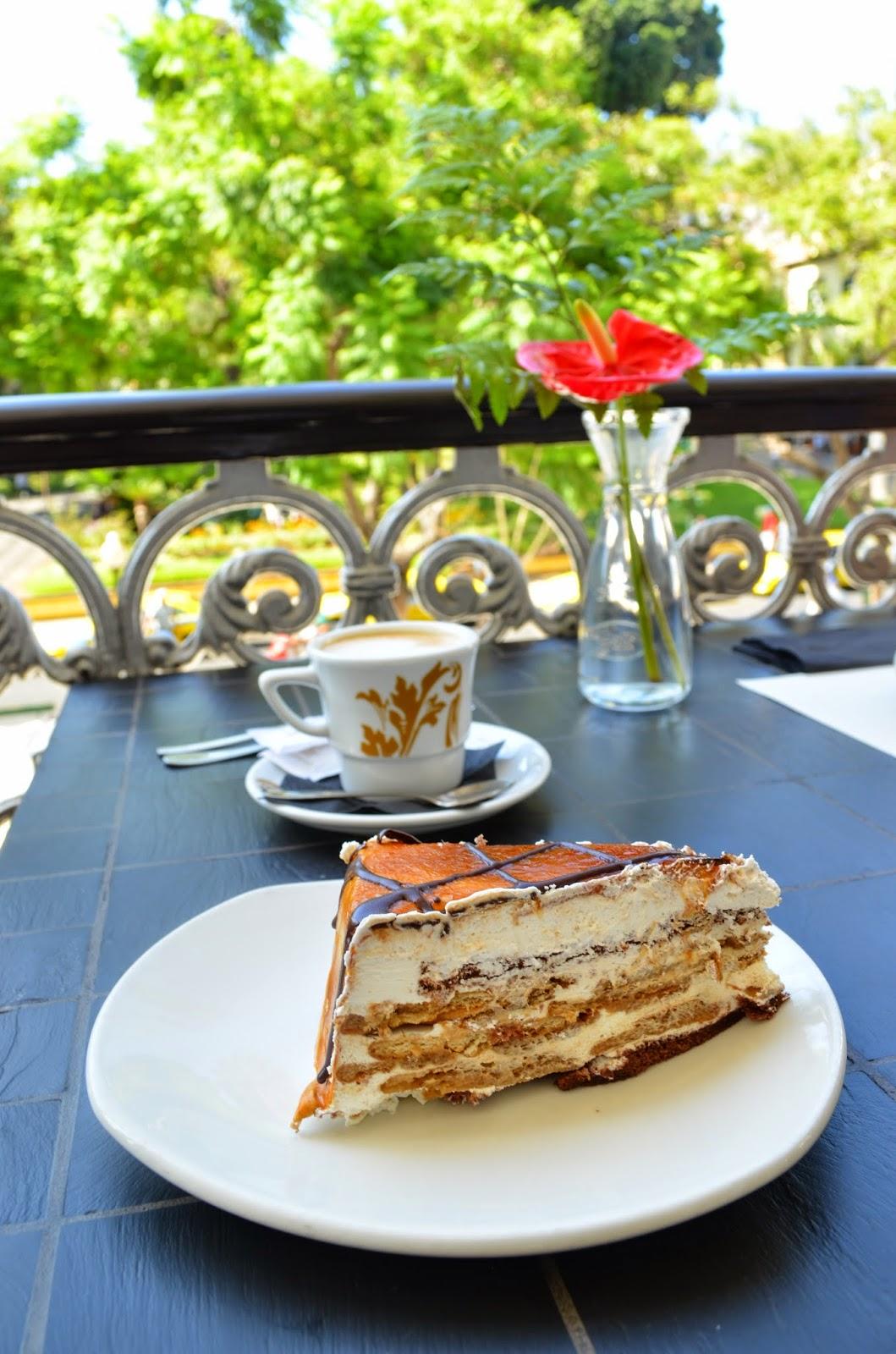 MI ruta gastronómica por Madeira: Tarta de caramelo y galletas-Hotel Ritz de Madeira