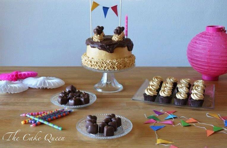 """Mi tarta de cumpleaños: """"Tarta de chocolate y dulce de leche"""""""