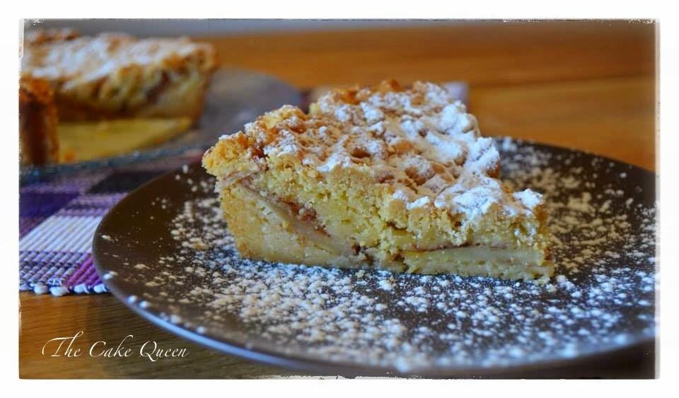 """Tarta de manzana polaca """"szarlotka"""", una tarta húmeda y con un sabor exquisito a manzanas"""