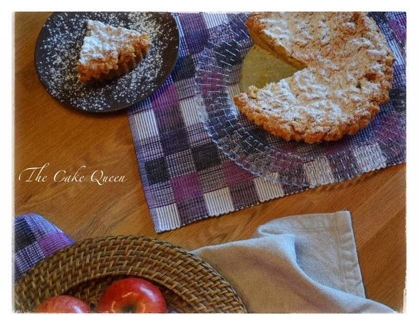 "Tarta de manzana polaca ""szarlotka"" una tarta deliciosa"
