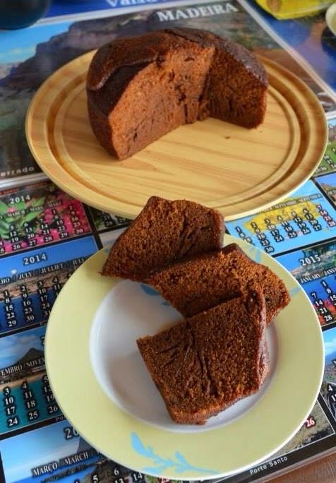MI ruta gastronómica por Madeira: Tarta rústica de miel de caña de azúcar