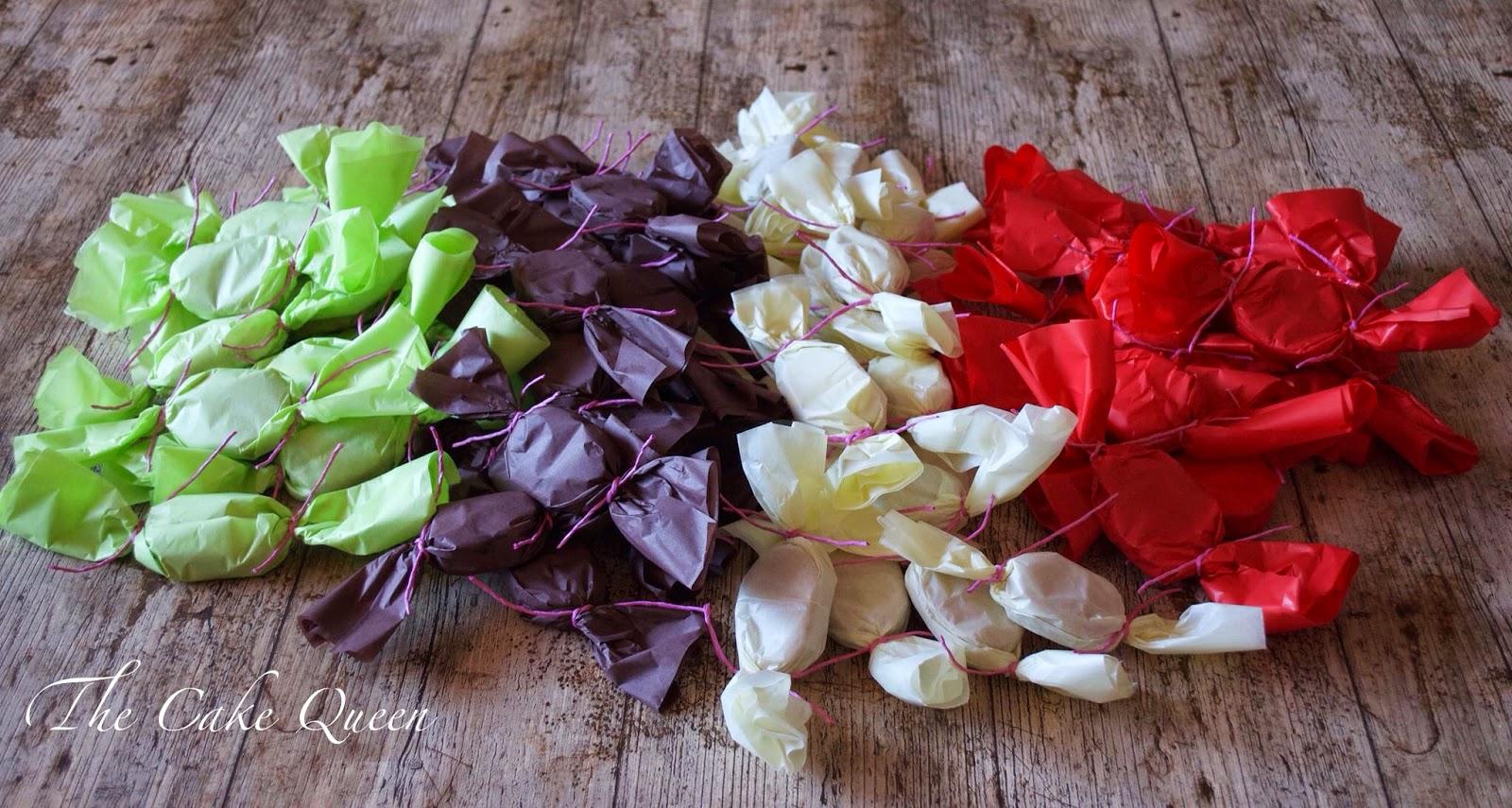 Mis polvorones, envueltos en papel de seda quedan preciosos