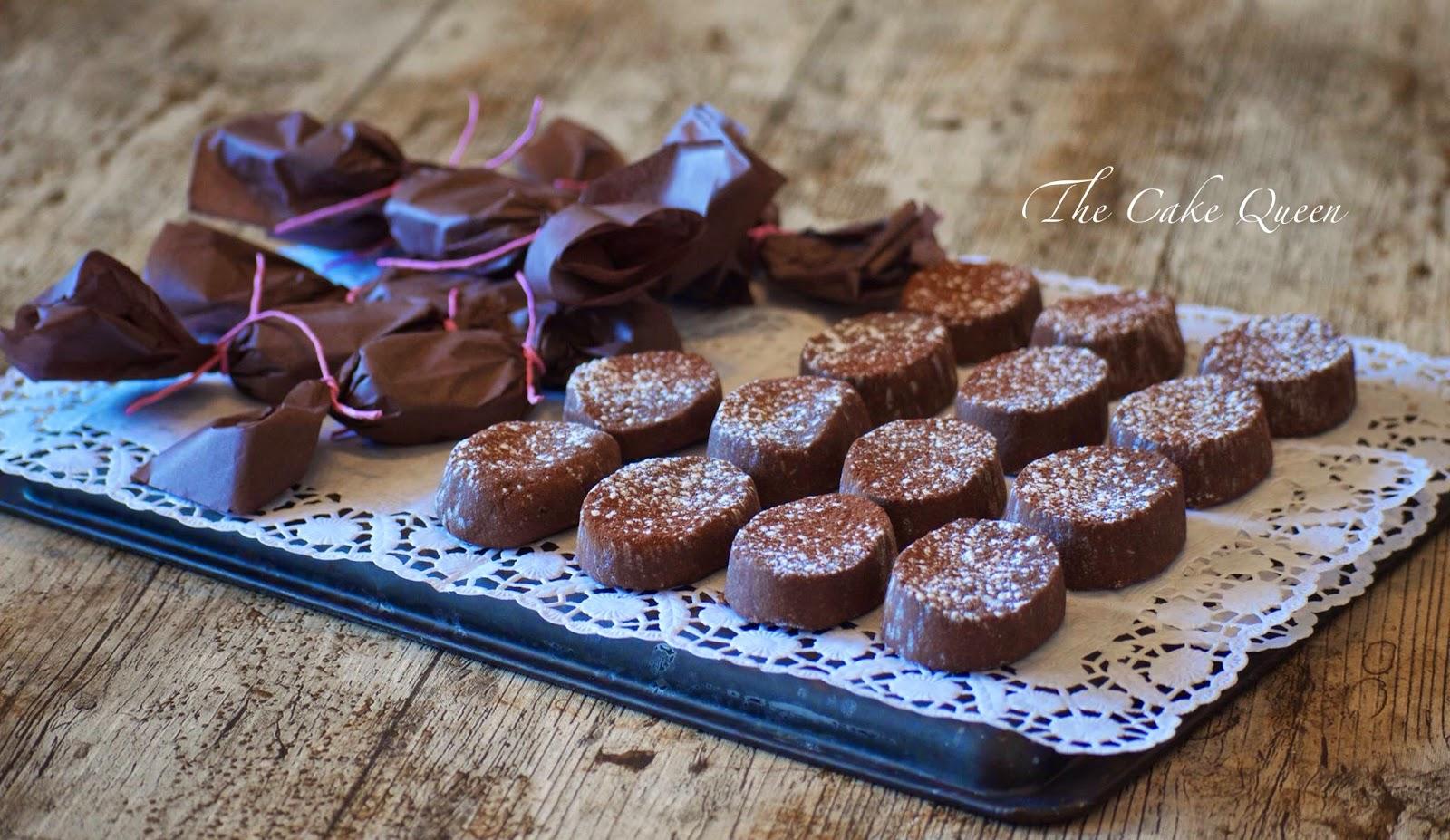 Mis polvorones: los polvorones de chocolate de Lucía
