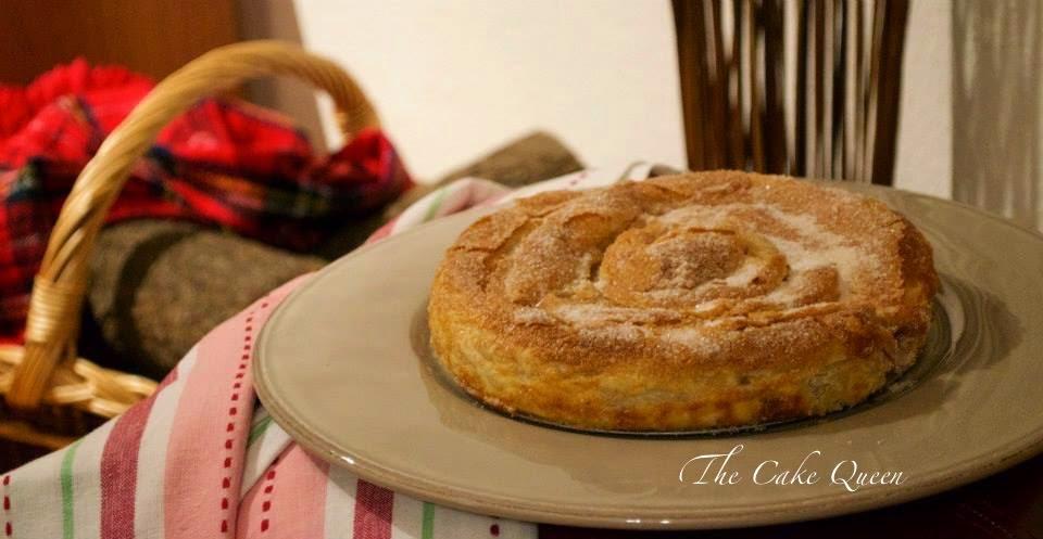 Pastel de calabaza búlgaro, precioso y delicioso