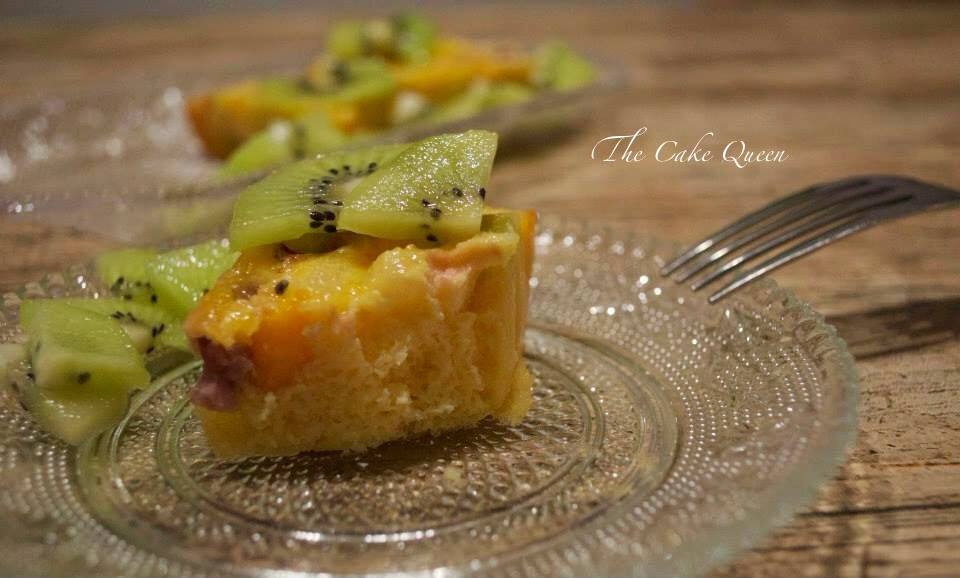 Tortilla de Kiwis al horno, una receta muy sana y sabrosa