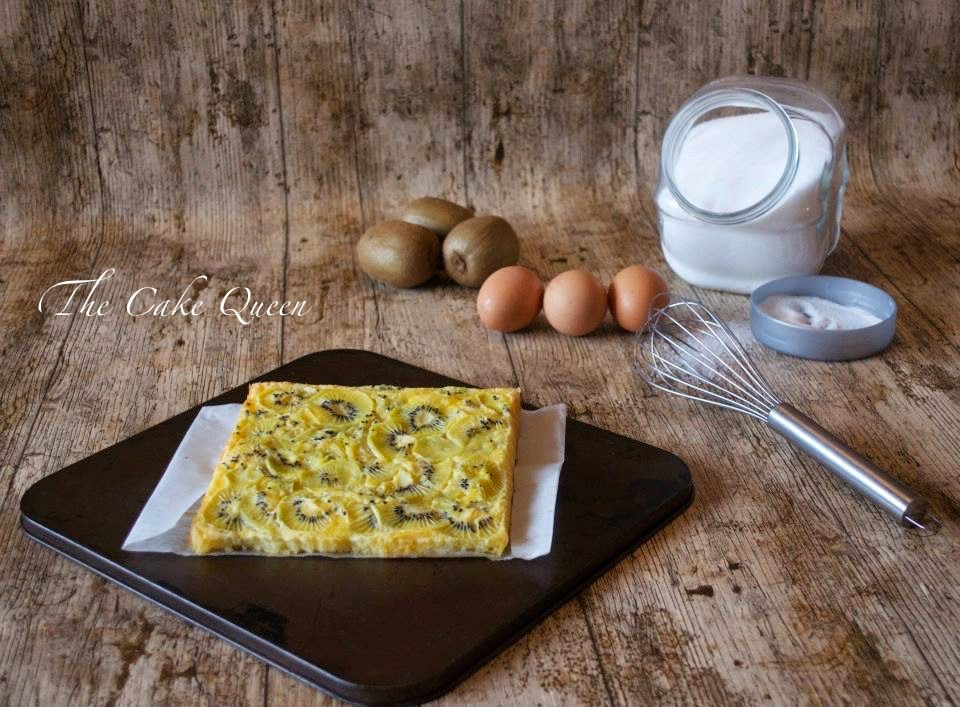 Tortilla de Kiwis al horno, una receta muy sana y rica