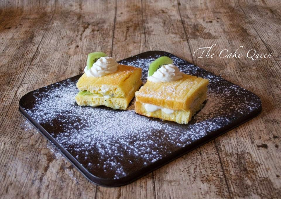 Tortilla de Kiwis al horno