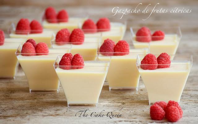 Gazpacho de frutas cítricas