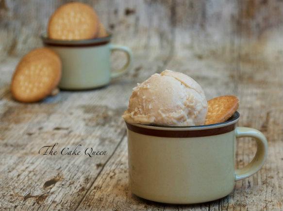helado de galletas María