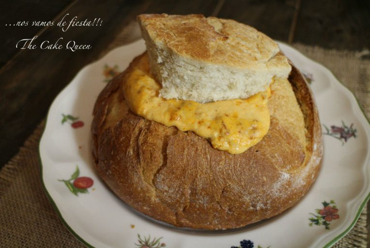 Pan portugués de chorizo, un gran entrante