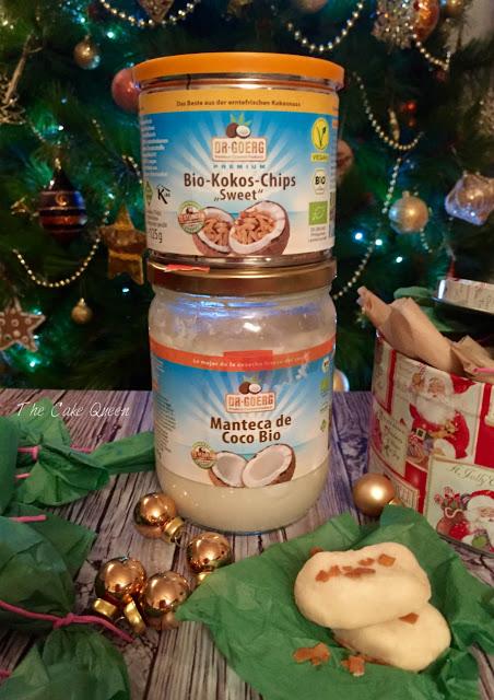 Manteca de coco bio y láminas de coco caramelizadas de Dr. Goerg