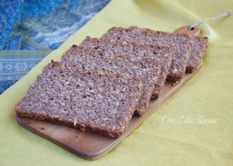 Deliciosas rebanadas de pan de centeno