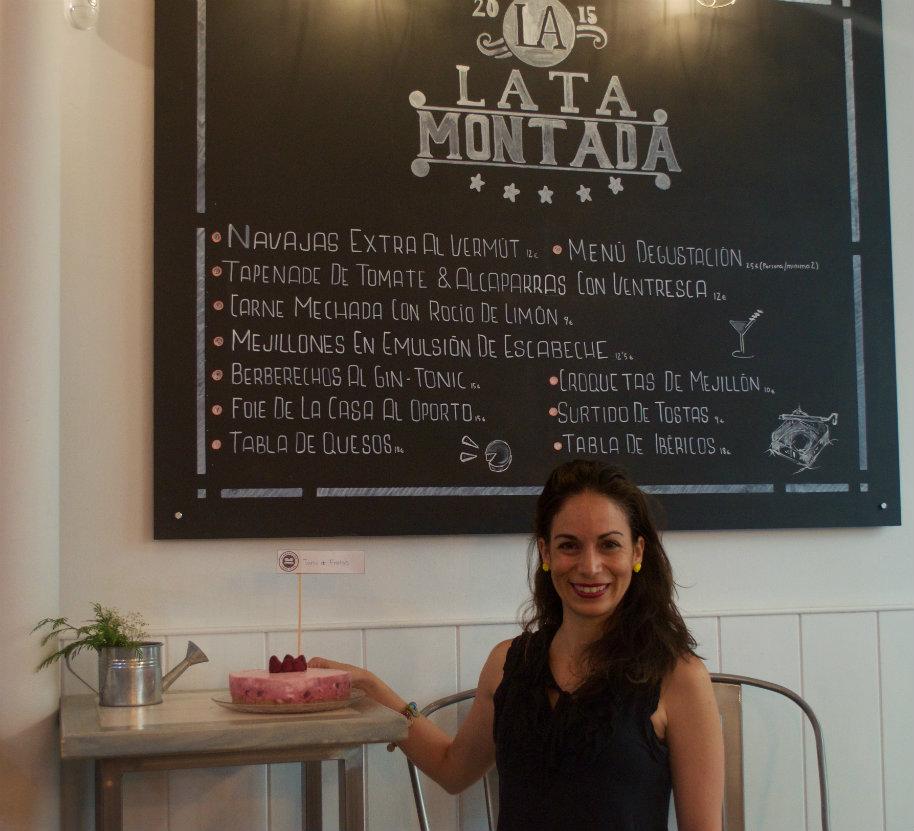 """Reunión clandestina de reposteros temática """"TARTAS SORPRESAS"""": yo con mi tarta cítrica en la reunión clandestina de reposteros de Madrid"""
