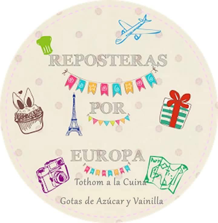 Logo del Reto Reposteras por Europa