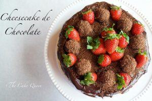 Especial de cheesecakes: cheesecake de chocolate