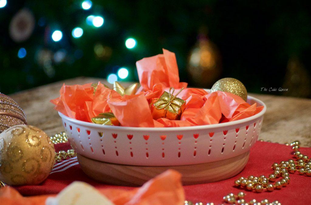 Mantecados de naranja