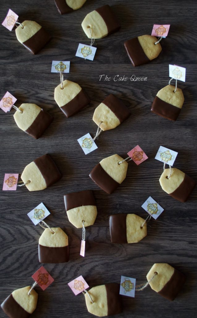 Galletas de mantequilla TE para Begoña