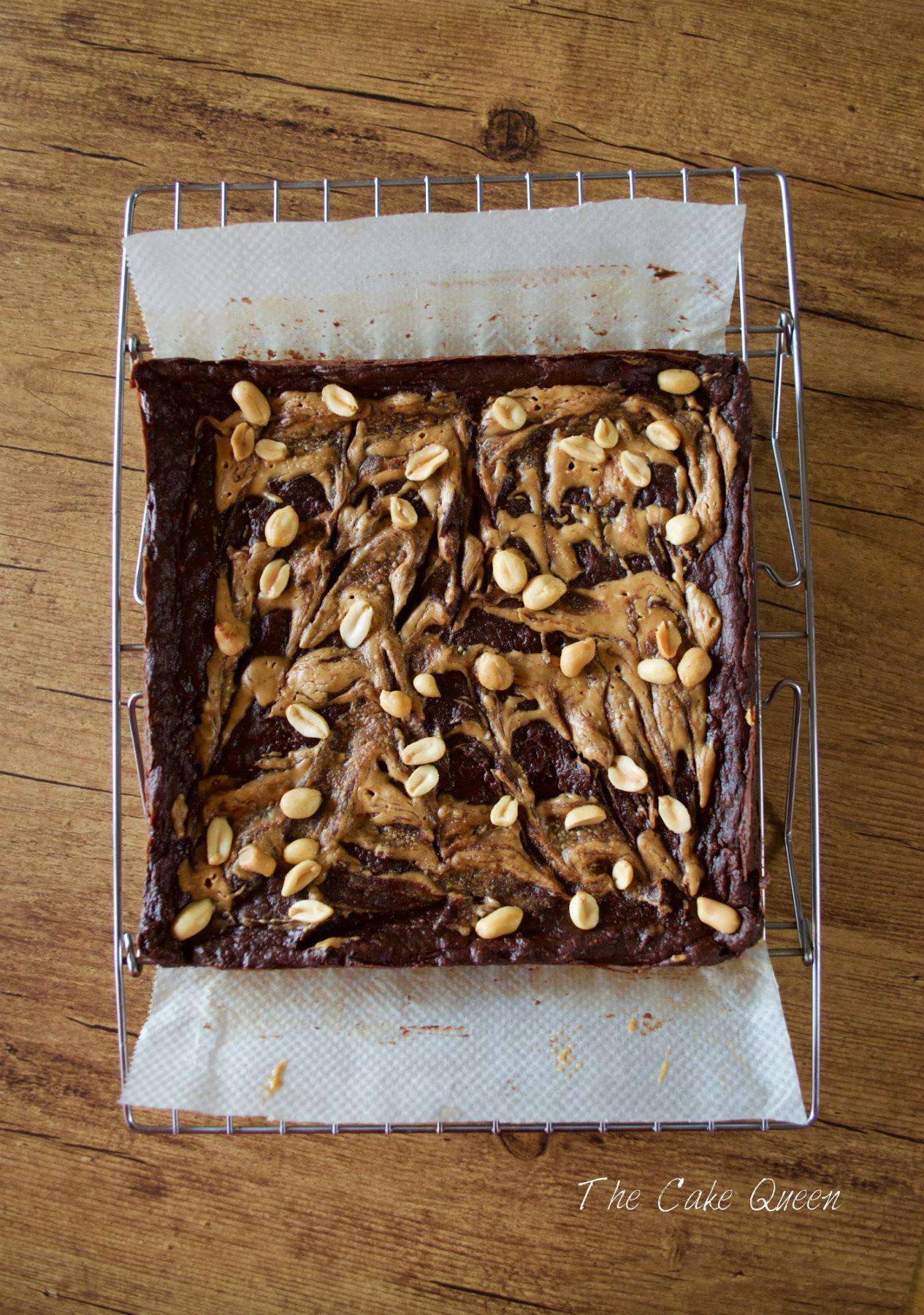 Brownie con aguacate FIT y VEGANO