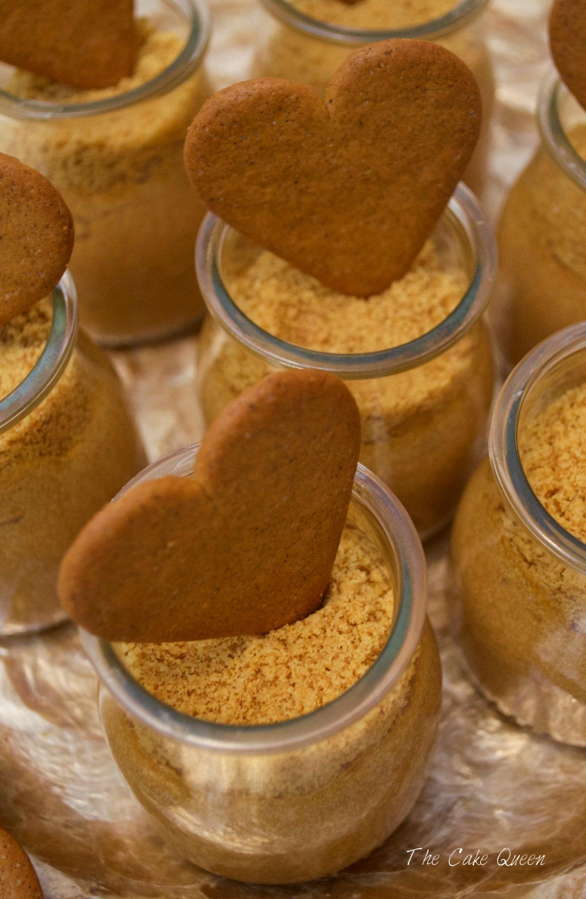 Mousse de caramelo sin gluten