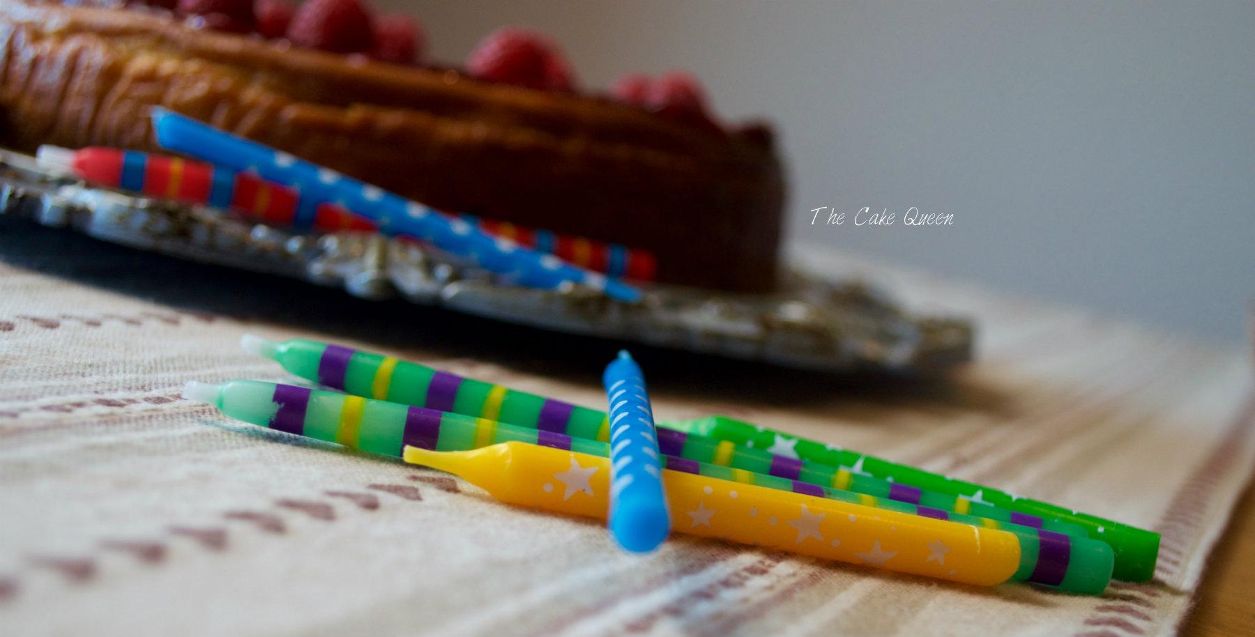Cheesecake de maracujá y frambuesas