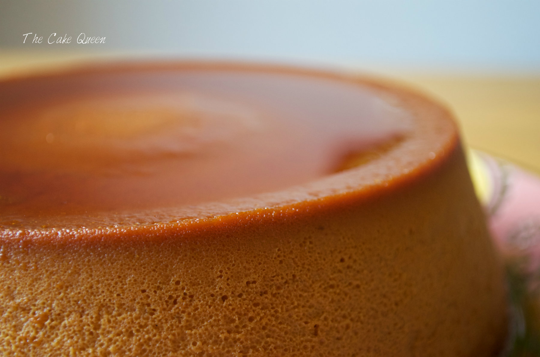 Flan de dulce de leche y mascarpone