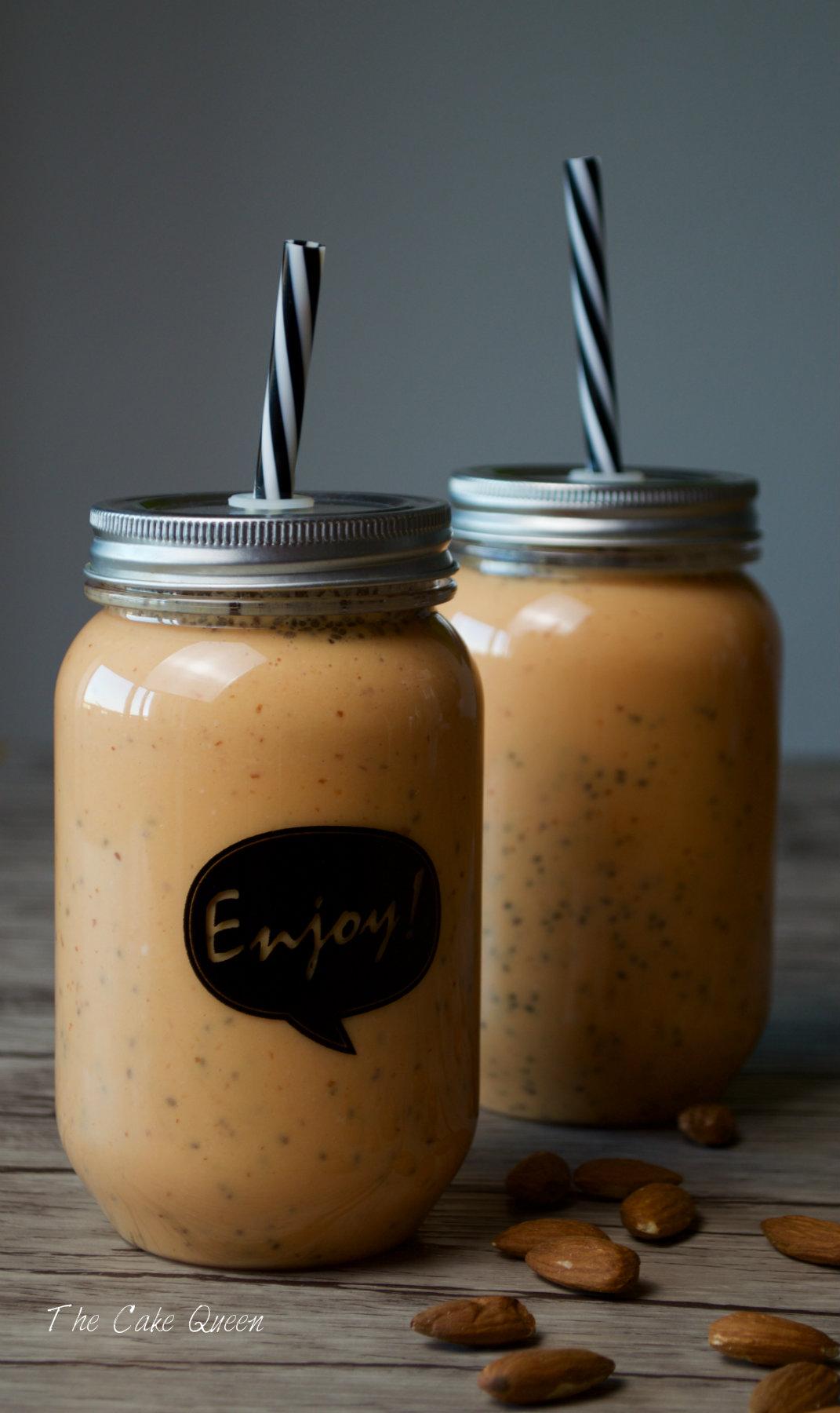 Smoothie de papaya y semillas de chía