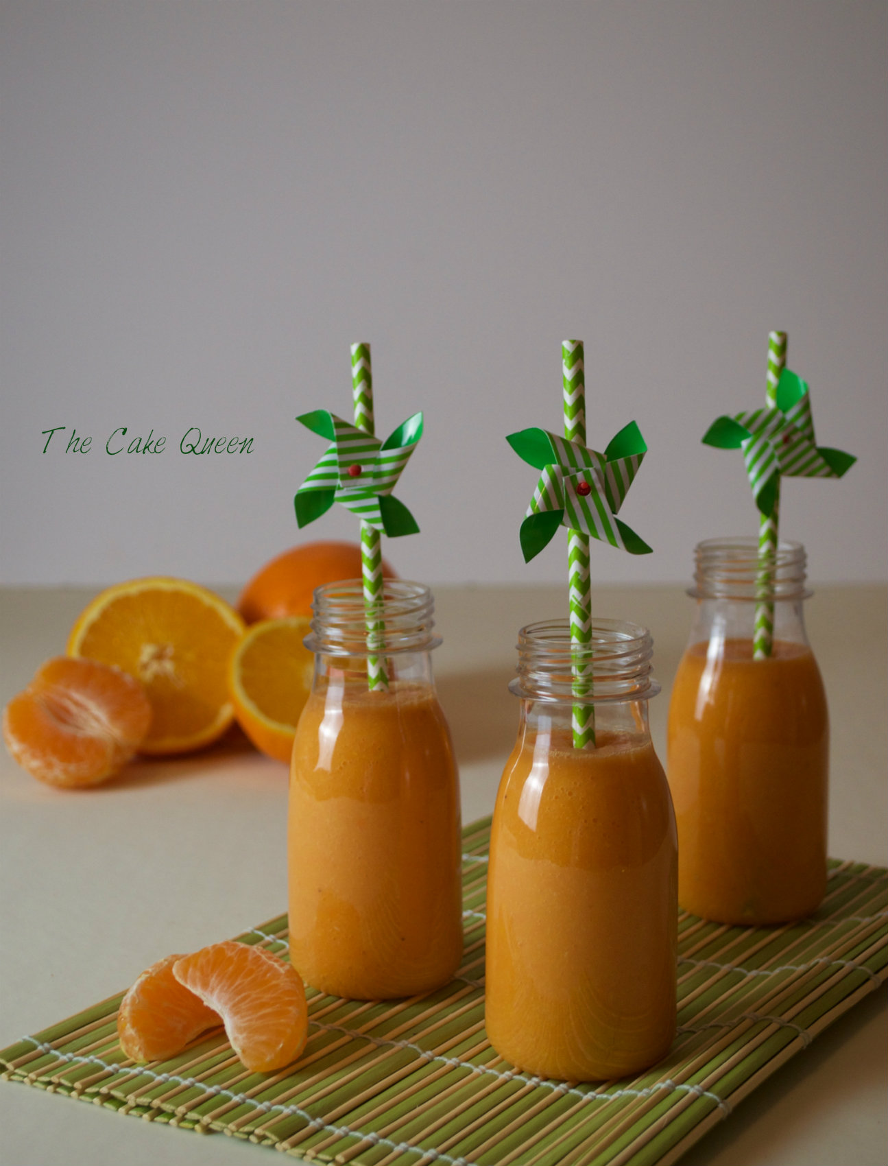 Zumo de naranja y mandarinas 1