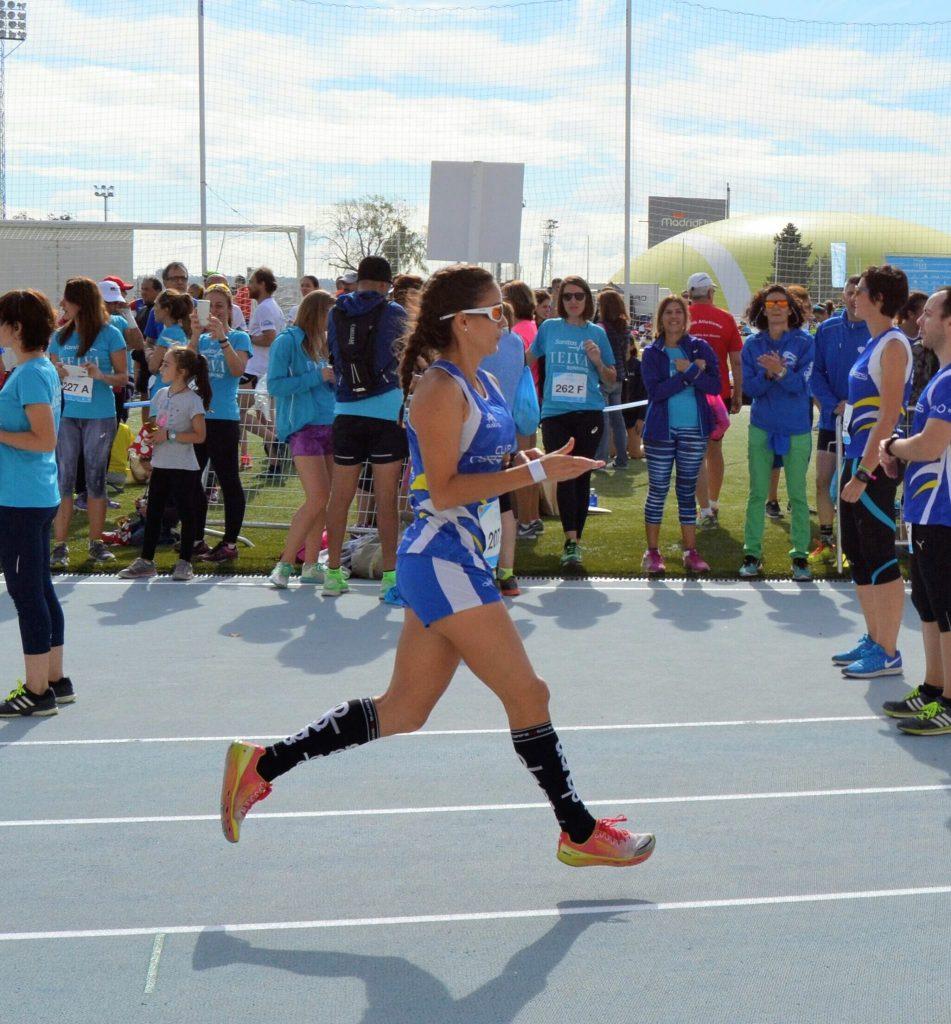 yo en el running