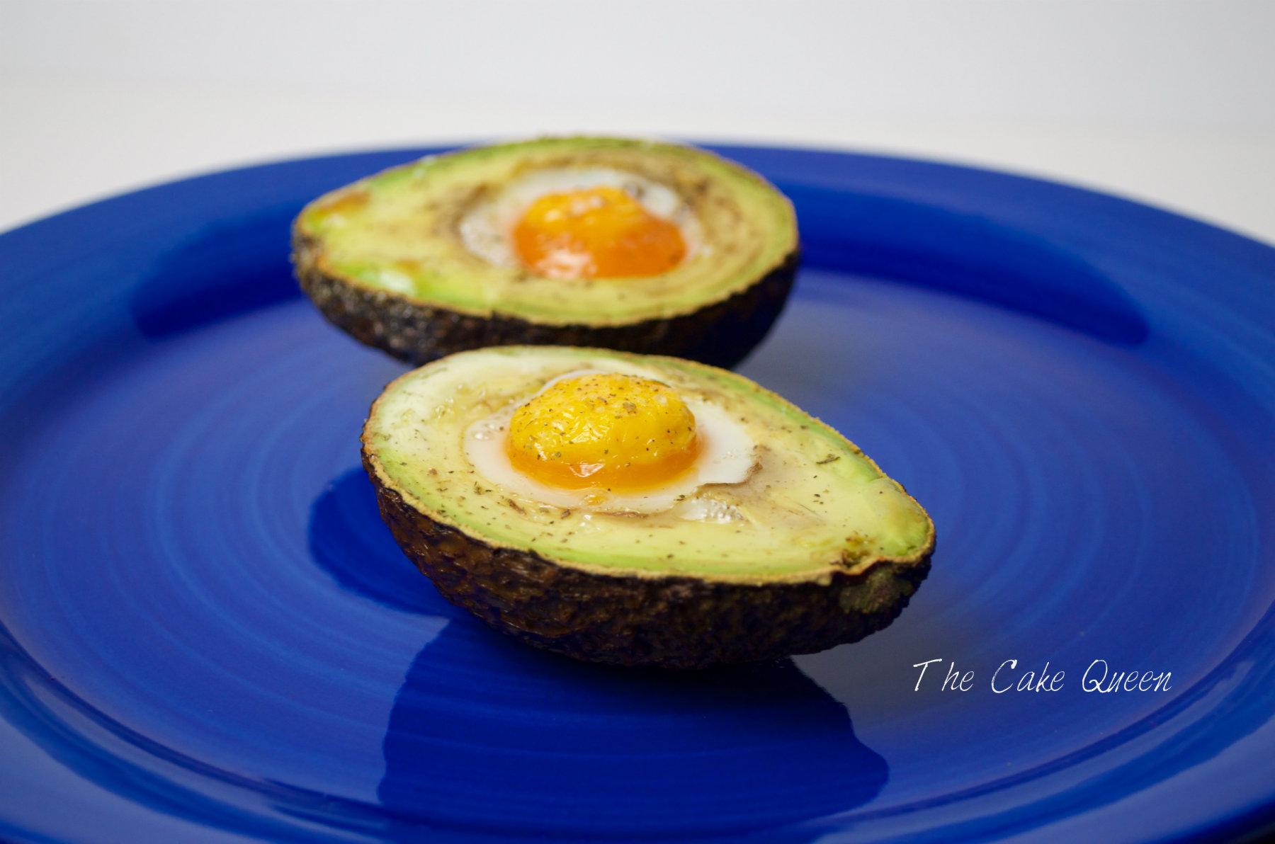 Aguacate y huevo un desayuno o entrante delicioso