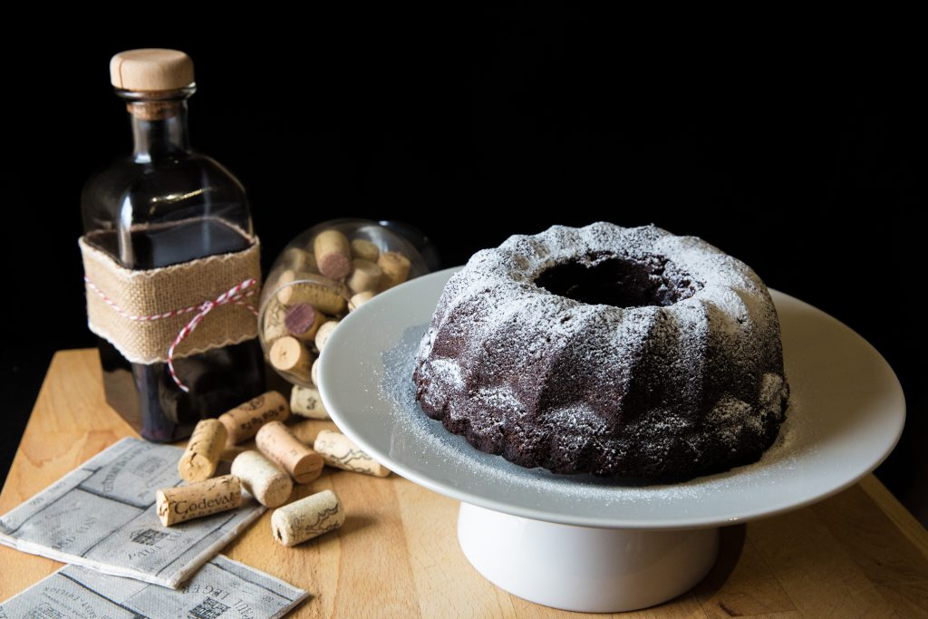 Ven a nuestra mesa, Colaboración Navideña 2018 bundt cake de vino glühwein