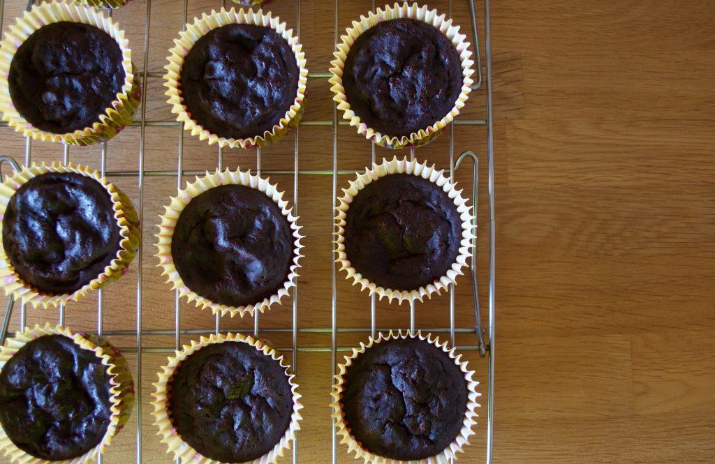 Muffins bread de chocolate y plátano